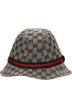 Gucci Hut Aus Baumwollmischung Mit Logomuster