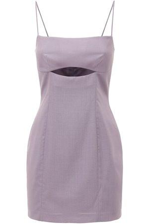 Zeynep Arcay Kleid Aus Wolle Mit Ausschnitten