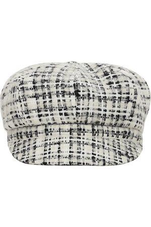 Dolce & Gabbana Damen Hüte - Wolltweedkappe Mit Logo