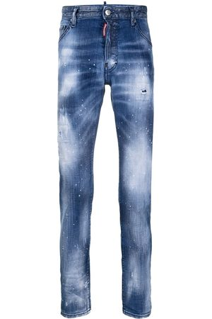 Dsquared2 Schmale Distressed-Jeans