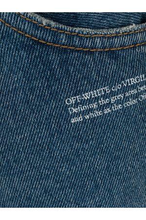 OFF-WHITE Jeans mit Logo-Print