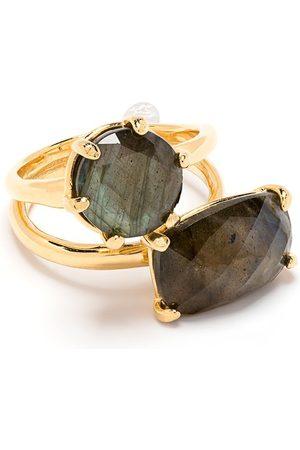 WOUTERS & HENDRIX Ring mit geometrischen Steinen