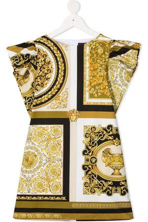 VERSACE Kleid mit Barocco-Print