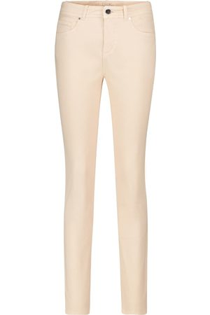 Loro Piana High-Rise Slim Jeans Mathias