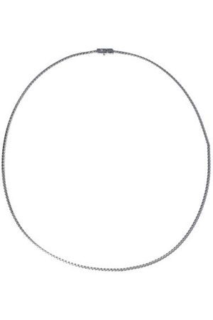 TOM WOOD Box-chain Sterling-silver Necklace