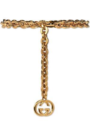 Gucci Damen Schmuck - Kettengürtel mit GG Anhänger