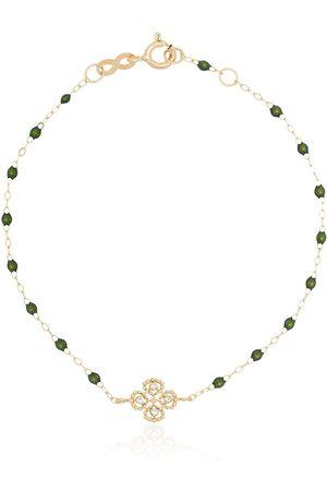 GIGI CLOZEAU 18kt Gelbgoldarmband mit Diamanten