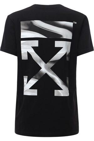 """OFF-WHITE Oversized T-shirt Aus Jersey """"liquid Melt Arrow"""""""