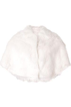 Unreal Fur Schal mit Faux Fur