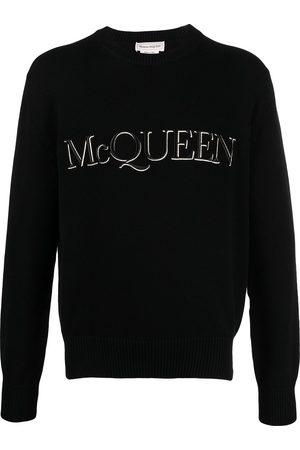 Alexander McQueen Pullover mit Logo-Stickerei