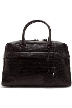 Dolce & Gabbana Reisetasche mit Kroko-Optik