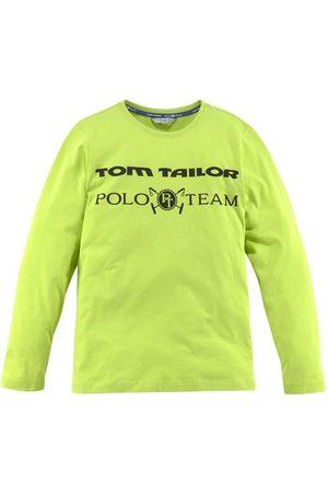 TOM TAILOR Langarmshirt mit Logo-Druck