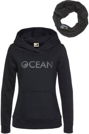 Ocean Kapuzensweatshirt »mit Multifunktionaler Tube Schal« (Set, 2-tlg)