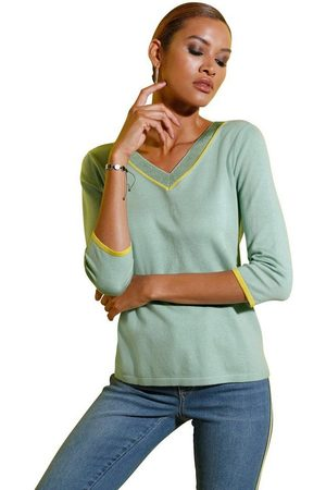 CRÉATION L V-Ausschnitt-Pullover »Pullover«