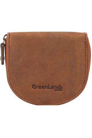 Greenland Montenegro Münzbörse RFID Leder 10 cm, natur