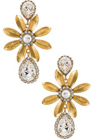 ELIZABETH COLE Chrissy Earrings in .