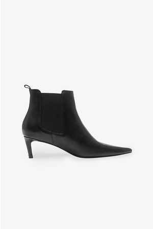 ANINE BING Stevie Boots in Black Leather