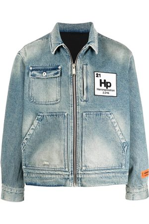 Heron Preston Worker Jeansjacke mit Logo-Patch