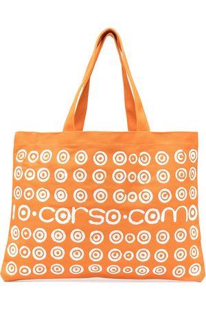 10 CORSO COMO Damen Handtaschen - Shopper mit Logo-Print