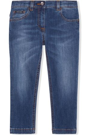 Dolce & Gabbana Skinny - Halbhohe Skinny-Jeans