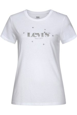 Levi's Rundhalsshirt »The perfect Tee« mit Logo- und Sterneprint