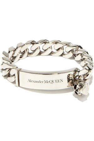 Alexander McQueen Skull-charm Curb-chain Bracelet