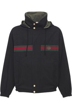Gucci Herren Blazer & Sakkos - Wendbare Jacke Aus Nylon Und Baumwolle