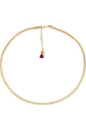 Shashi Damen Halsketten - Silk Gold Necklace in .