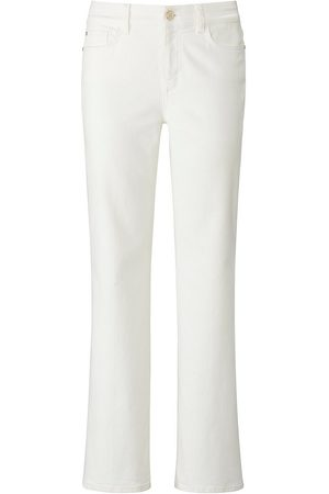 Laura Biagiotti Roma Damen Bootcut - Bootcut-Jeans weiss