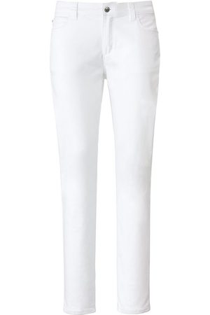 Looxent Damen Cropped - Wonderjeans weiss