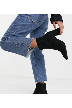 Raid Wide Fit Sapphire – Ankle-Boots mit Absatz in