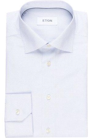 Eton Herren Business - Hemd Slim Fit blau