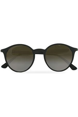 Ray-Ban RB4336CH Round Sunglasses Matte Black