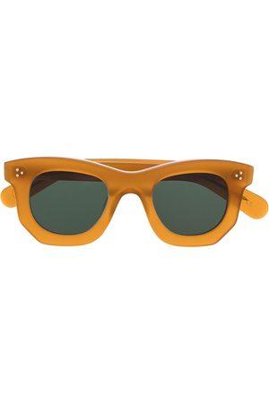 LESCA Sonnenbrillen - Sonnenbrille mit eckigem Gestell