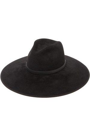 Gucci Horsebit Felt Fedora Hat