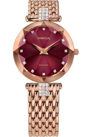 JOWISSA Armbanduhr Facet Strass