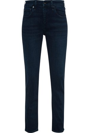 RAG&BONE Dre Low Rise Slim Boyfriend Dark Blue