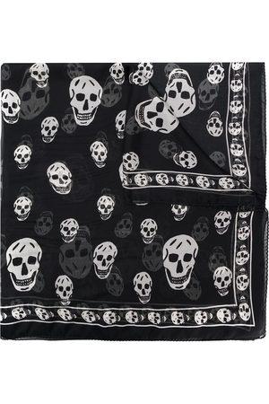 Alexander McQueen Herren Schals - Schal mit Totenkopf