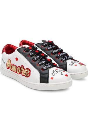 Dolce & Gabbana Amore' Sneakers mit Pailletten