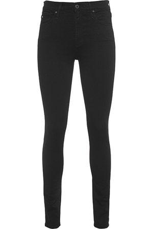 AG Jeans Damen Skinny - The Farrah Skinny Black