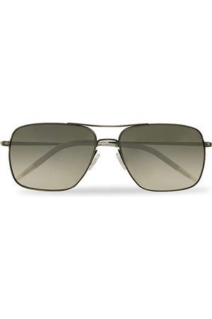 Oliver Peoples Herren Sonnenbrillen - Clifton Sunglasses Antique Pewter/Shale Gradient