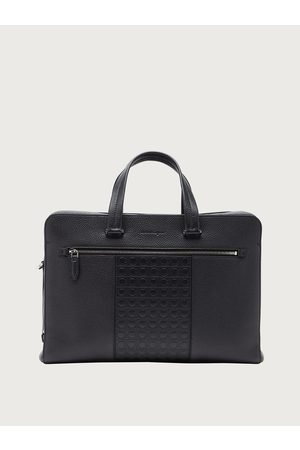 Salvatore Ferragamo Herren Laptop- & Aktentaschen - Herren Gancini business bag