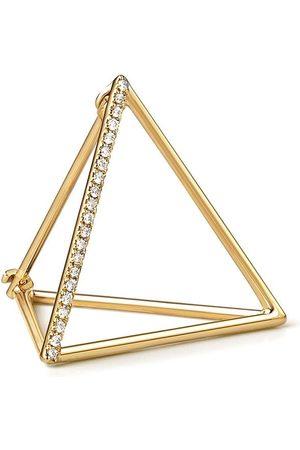 SHIHARA Dreieckiger Ohrring mit Diamanten