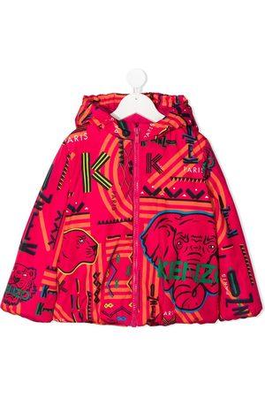 Kenzo Mädchen Sweatjacken - Kapuzenjacke mit Logo-Print