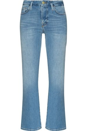Frame Le Crop Skinny-Bootcut-Jeans