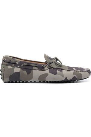 Tod's City Gommino Loafer mit Camouflage-Print