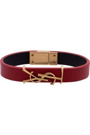 Saint Laurent Armband Opyum aus Leder