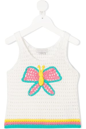 Stella McCartney Stricktop mit Schmetterling