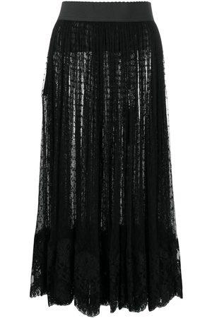Dolce & Gabbana Damen Midiröcke - Klassischer Midirock