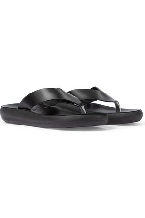 Ancient Greek Sandals Zehensandalen Charys aus Leder